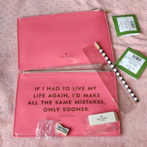 Kate Spade pencil pouch